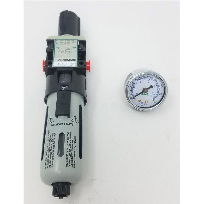 "Circulation valve UL 55//220 1//2/"" IG input 3//8/""ig output for Comet FW AR Series RK"