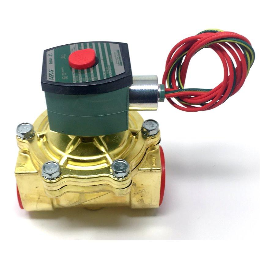 solenoid valves results page 1 stromquist company rh stromquist com 115 Volt Motor Wiring Diagram 240 Volt Contactor Wiring Diagram
