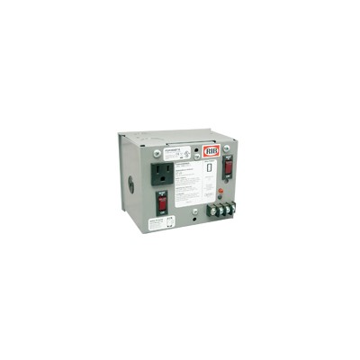 40 VA power supply / outlet / circuti br