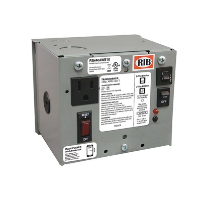Enc Single 40VA 120 to 24Vac UL class II