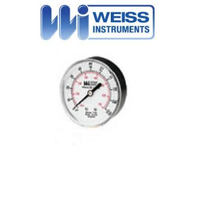 Weiss Digital Gauge 0 to 400 Psi 1//2 In NPT DUGY2-0400-2L